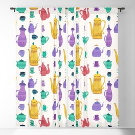 It`s time for tea! Blackout Curtain
