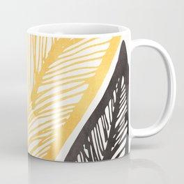 Friendly Flora - Colorful Leaf Design Coffee Mug