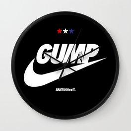 Gump- JustDoIt Wall Clock