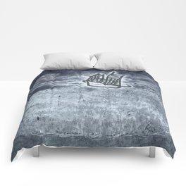 Fragata a la vista! Comforters