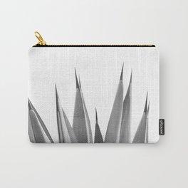 Gray Agave Dream #1 #tropical #decor #art #society6 Carry-All Pouch