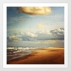 my dream beach Art Print