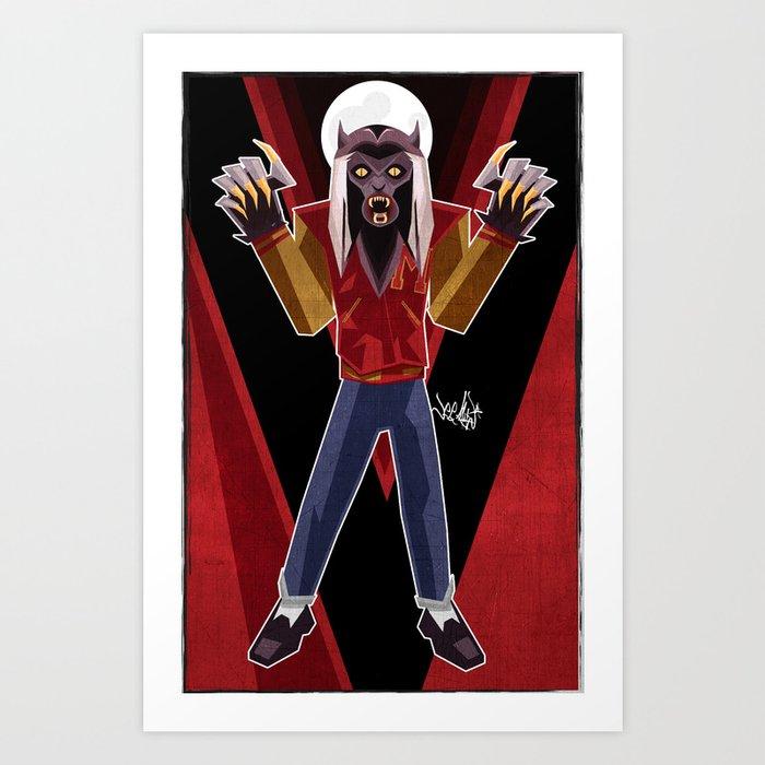 Thriller Time Art Print