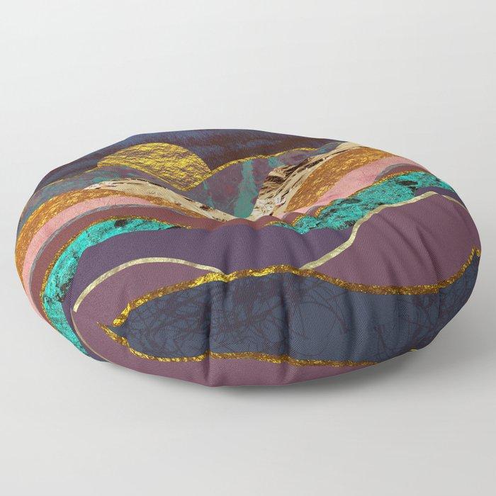 Color Fields Floor Pillow