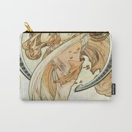 Dance (1898) by Alphonse Mucha Carry-All Pouch