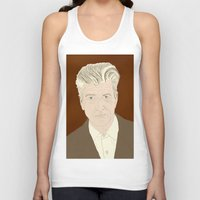 david lynch Tank Tops featuring LYNCH by Itxaso Beistegui Illustrations