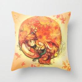 Cadeau - (Mini Chief of Kaga) Throw Pillow