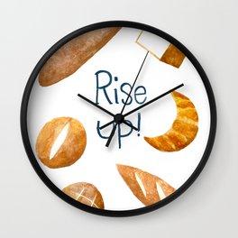Rise Up! Wall Clock