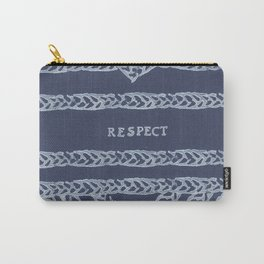 RESPECT ELM THE PERSON Carry-All Pouch