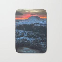 Beautiful Earth / 1 Mt. Rainer, Washington Bath Mat