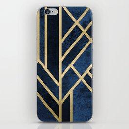 Art Deco Midnight iPhone Skin