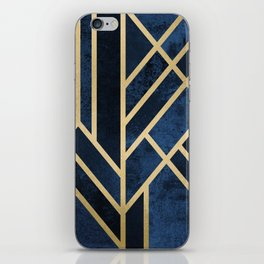 Art Deco Midnight iPhone Skin