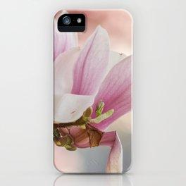 Makro_Magnolie_4 iPhone Case