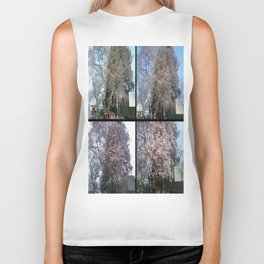 Tree Blossoms Biker Tank