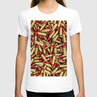 lipstick T-shirts featuring Lipstick by GrandeDuc