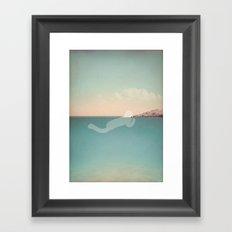 g l u g l u g l u Framed Art Print