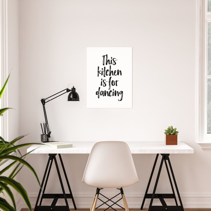 Kitchen Wall Art, Kitchen Poster, My Kitchen My Rules, Home Decor Poster by  typodecor