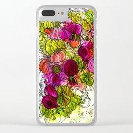 Dog-Rose. Autumn. Clear iPhone Case