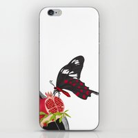 ruby iPhone & iPod Skins featuring Ruby by Anne  Martwijit