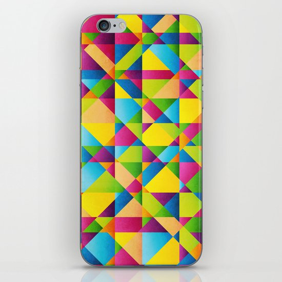Vibrant iPhone & iPod Skin
