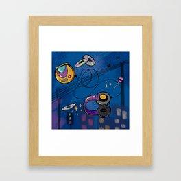 90s baby Framed Art Print