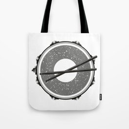Drum with drumsticks Tote Bag