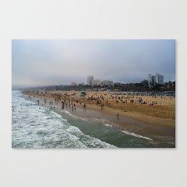 Santa Monica . Canvas Print
