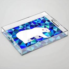 Rider of Icebergs Acrylic Tray