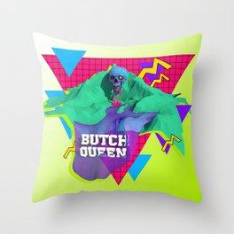 BQ Summer Vape Wave Throw Pillow