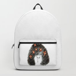 Bouffant Hair, Don't Care Backpack