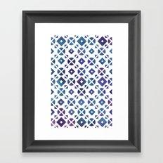 Broken Geometry 3 Framed Art Print