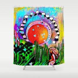 Free Spirits Shower Curtain