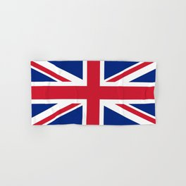 United Kingdom: Union Jack Flag Hand & Bath Towel