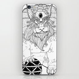 The First Shisa iPhone Skin