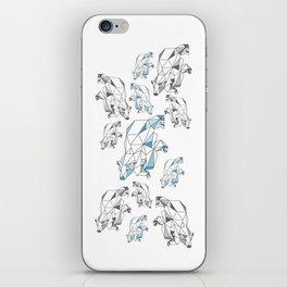 Polar bear population iPhone Skin