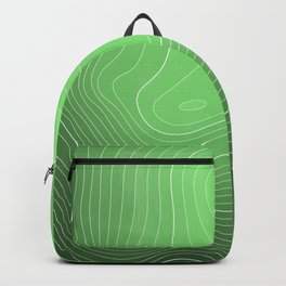 Mount Rainier Topography Backpack