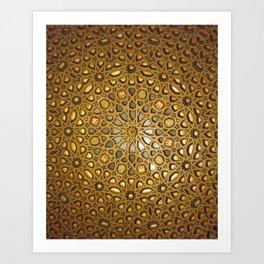 Stars of Morocco Art Print
