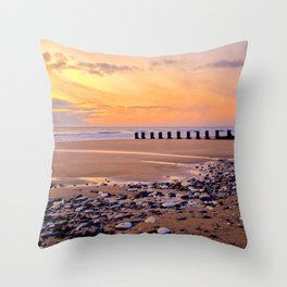Pebbles And Puddles  Throw Pillow