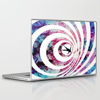 vertigo Laptop & iPad Skins featuring VERTIGO by Tia Hank