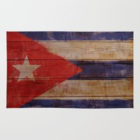 cuba Area & Throw Rugs featuring Cuba  by Jordygraph