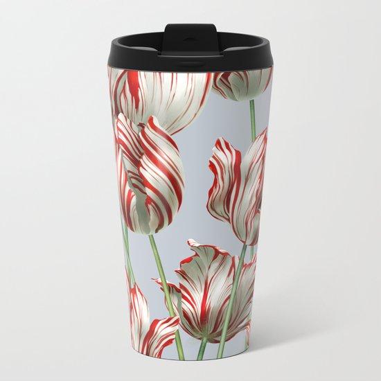 Semper Augustus Tulips Metal Travel Mug