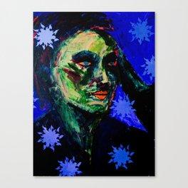 Cu Indigo Canvas Print