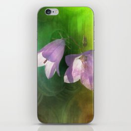 blue bell iPhone Skin