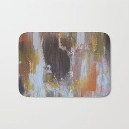 Rustic Leaves Bath Mat