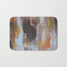 Rustic Leaves Bath Mat