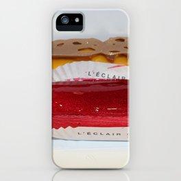 Eclairs from Paris iPhone Case