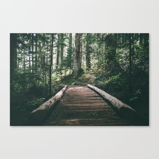 Happy Trails X Canvas Print
