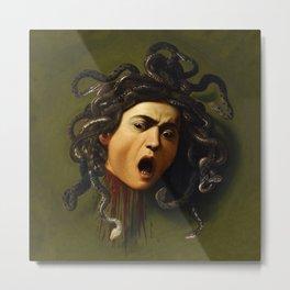 Carvaggio - Medusa Metal Print