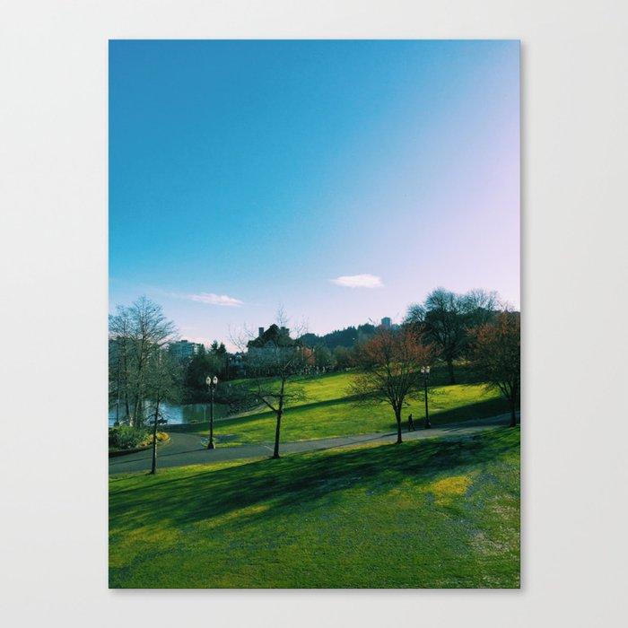 Waterfront Park Canvas Print