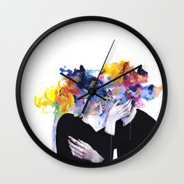 intimacy on display Wall Clock
